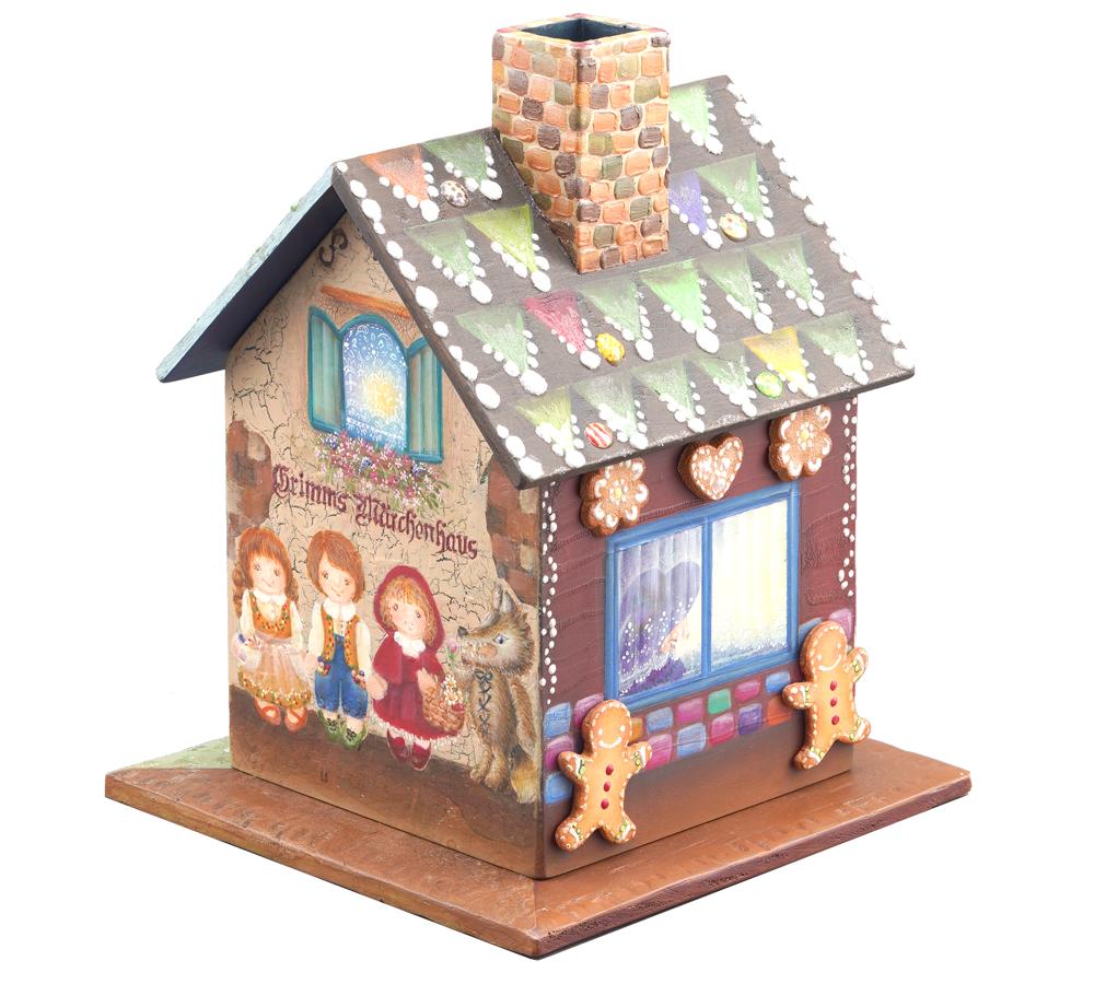 日本ヴォーグ社 ペイントクラフト賞秋間 美紀子グリム童話のお家 お話いくつ見つけられるかな?