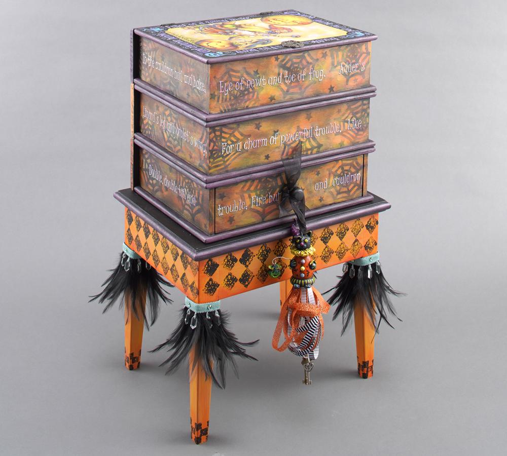 """クロマ社賞竹本 晏規""""Spells & Potions"""" Book BoxBobbie Takashima"""