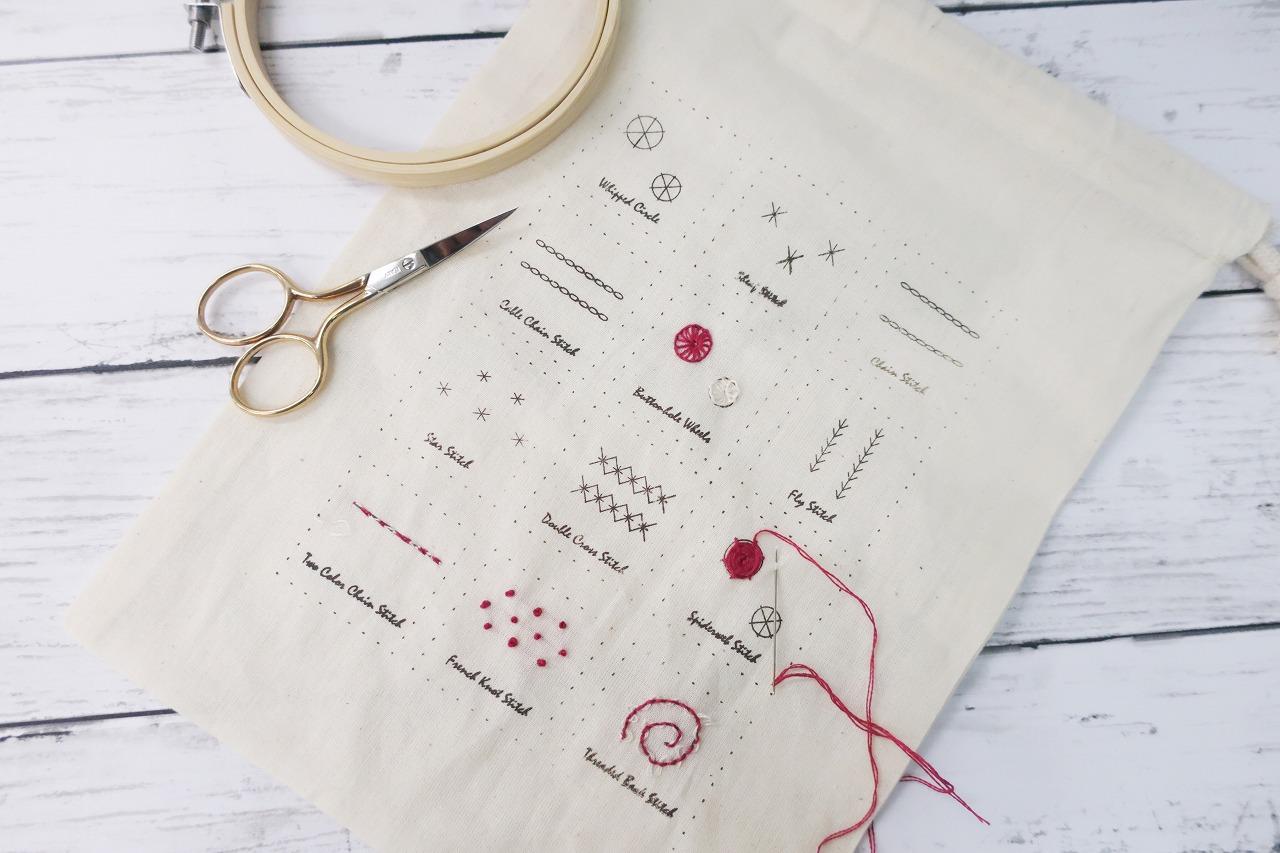 コロナダウンロード対策無料 刺繍キット