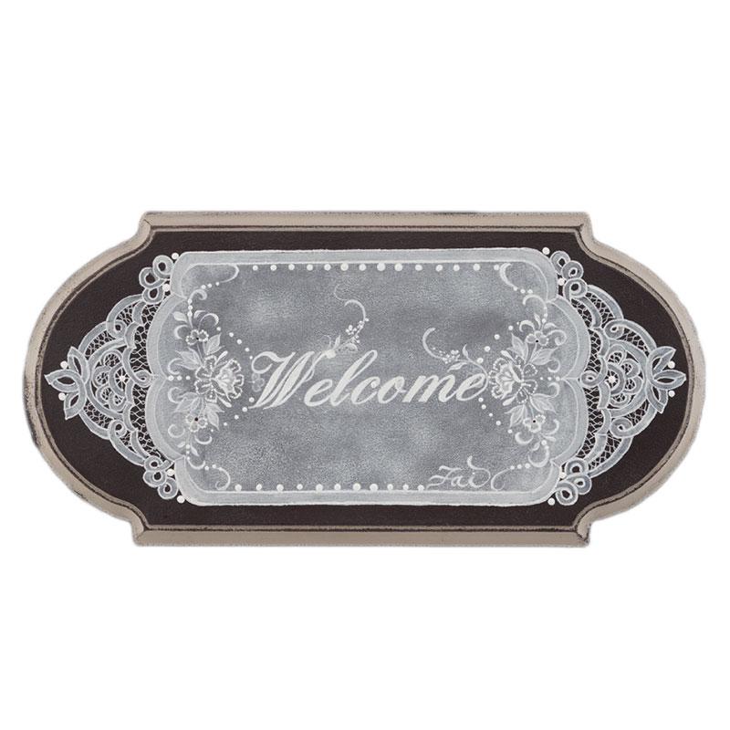 宮柱久子ウェルカムボードキット「バテンレースのウェエルカムプレート」(アクリル) 注文番号 417-2252 本体価格 ¥1,500特+税