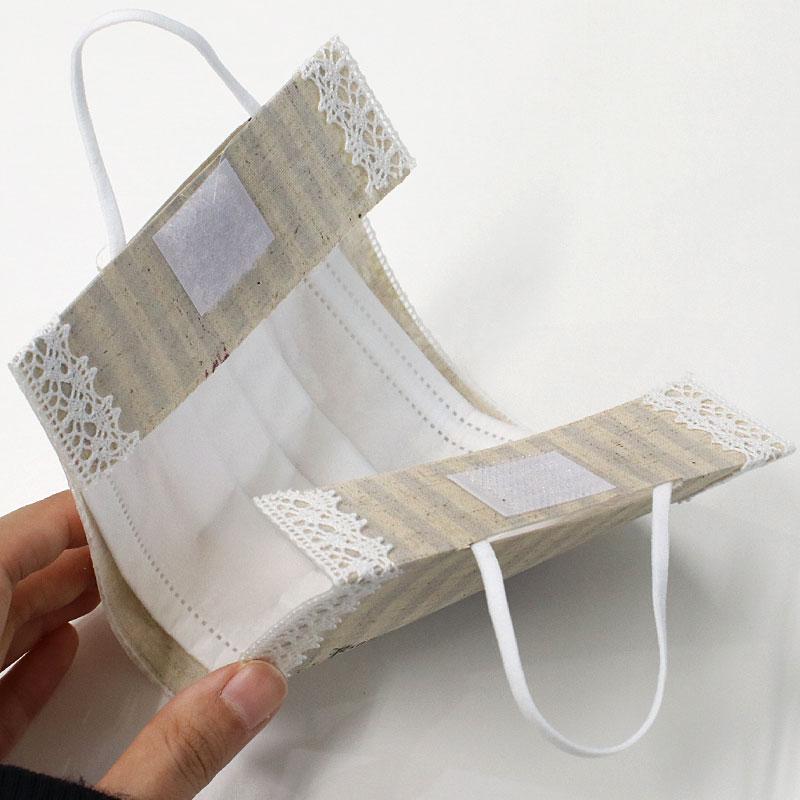 おしゃれな手作りデコマスクケースキットは瀬戸山桂子先生のデザイン