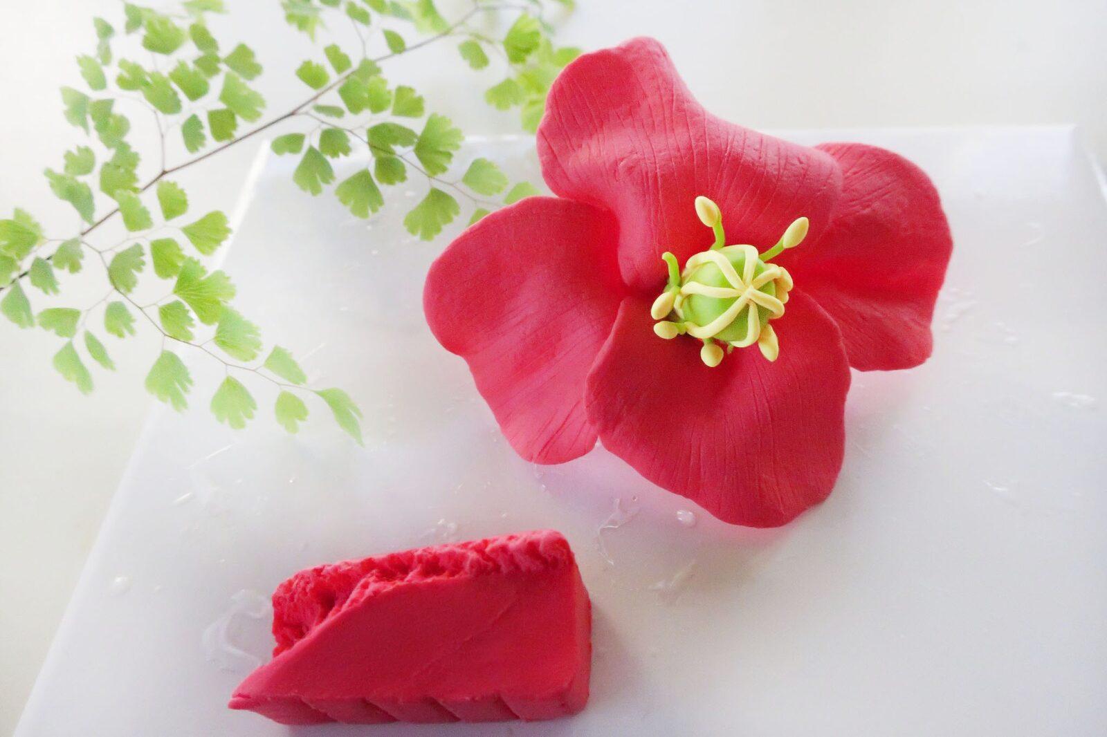 ポリマークレイ(オーブン粘土)の作り方ポピー