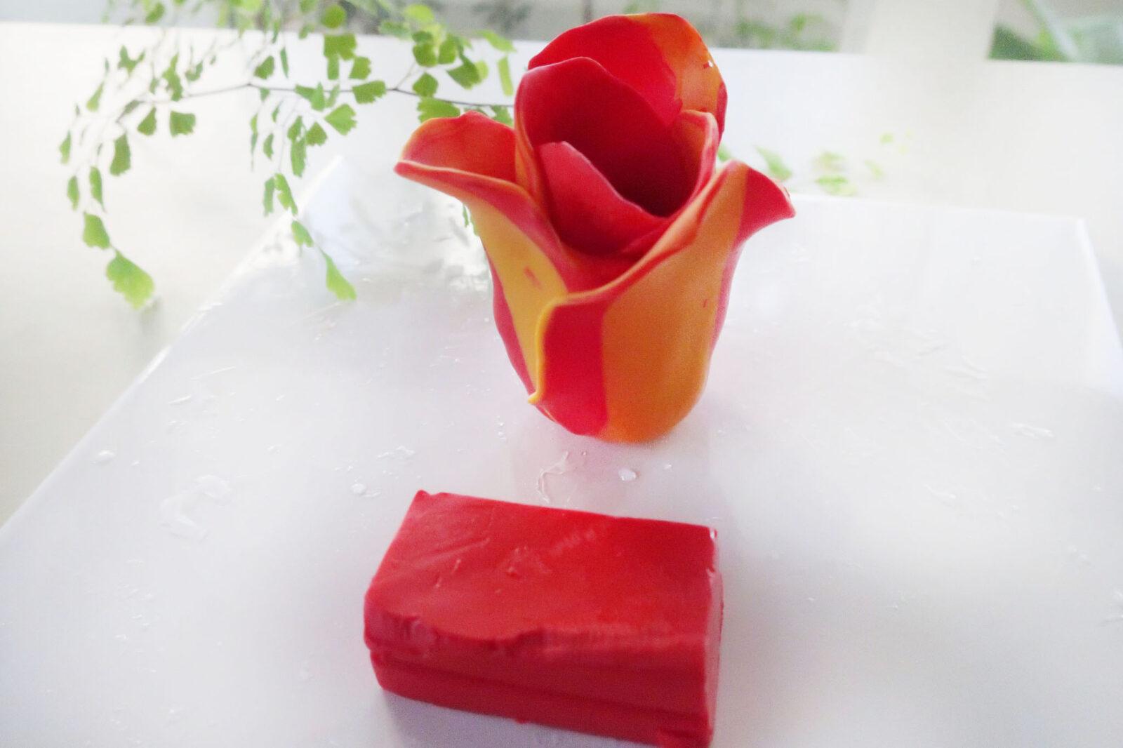 ポリマークレイ(オーブン粘土)の作り方チューリップ