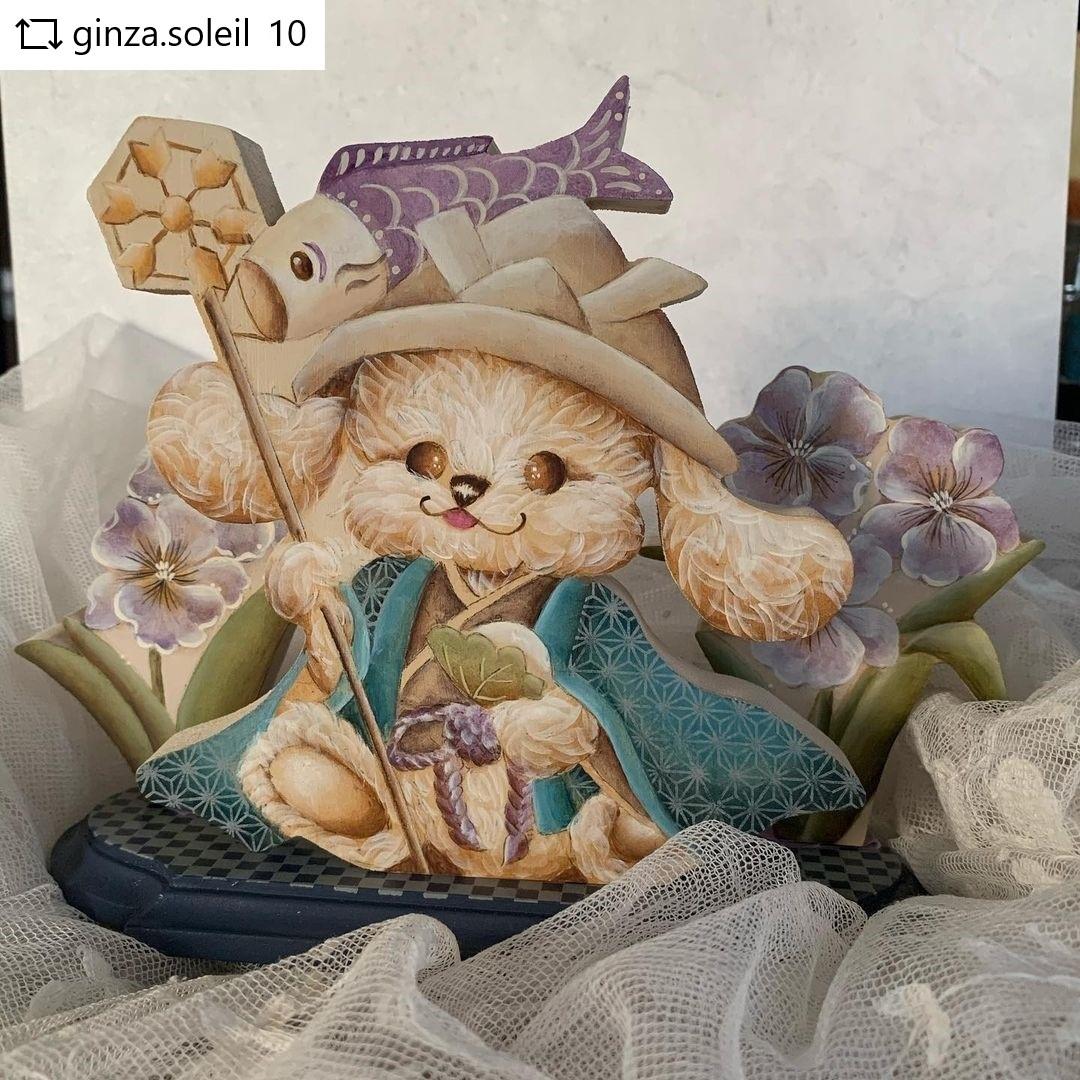 手作り五月人形